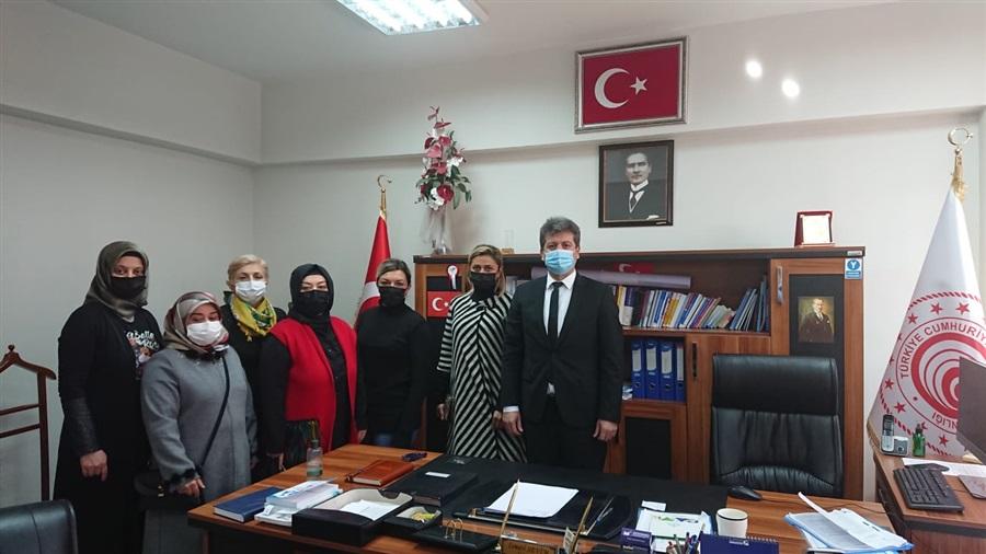 Aksaray Günebakan Kadın Girişimi Üretim ve İşletme Kooperatifi İl Müdürlüğümüzü Ziyaret Etti.