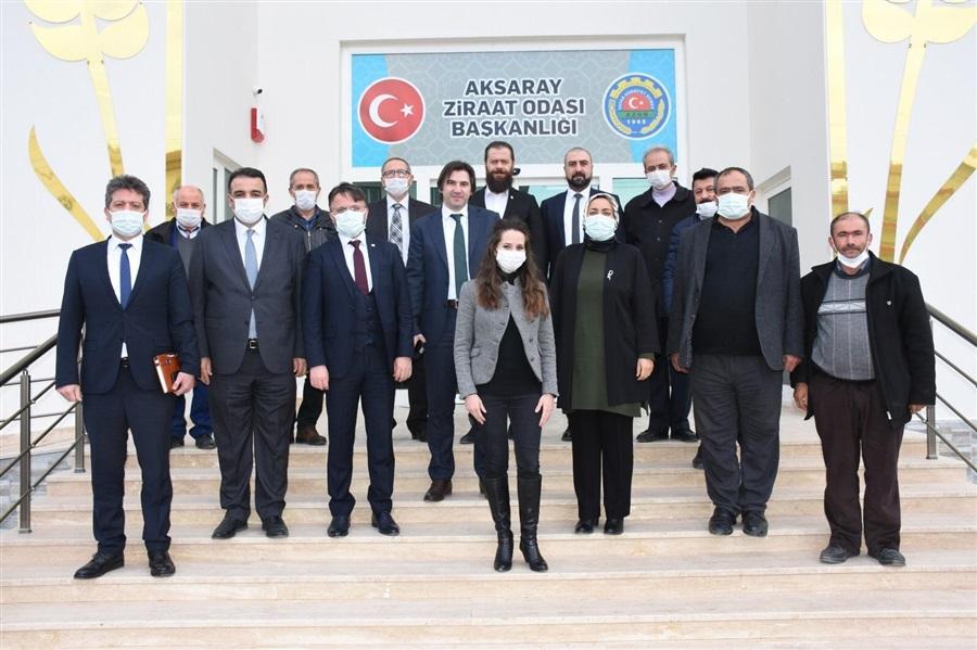 Türkiye Tarım Kredi Kooperatifinden ilimizdeki Kadın Girişimi Kooperatiflerini ziyaret ve bilgi alış verişi