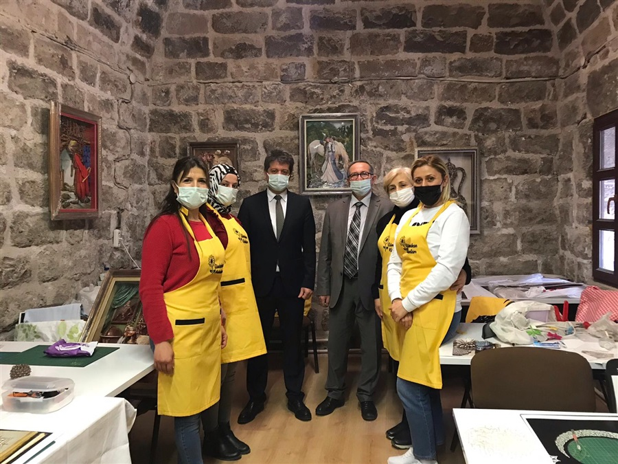 İl Müdürlüğümüzden Aksaray Günebakan Kadın Girişimi Üretim ve İşletme Kooperatifini ziyaret.