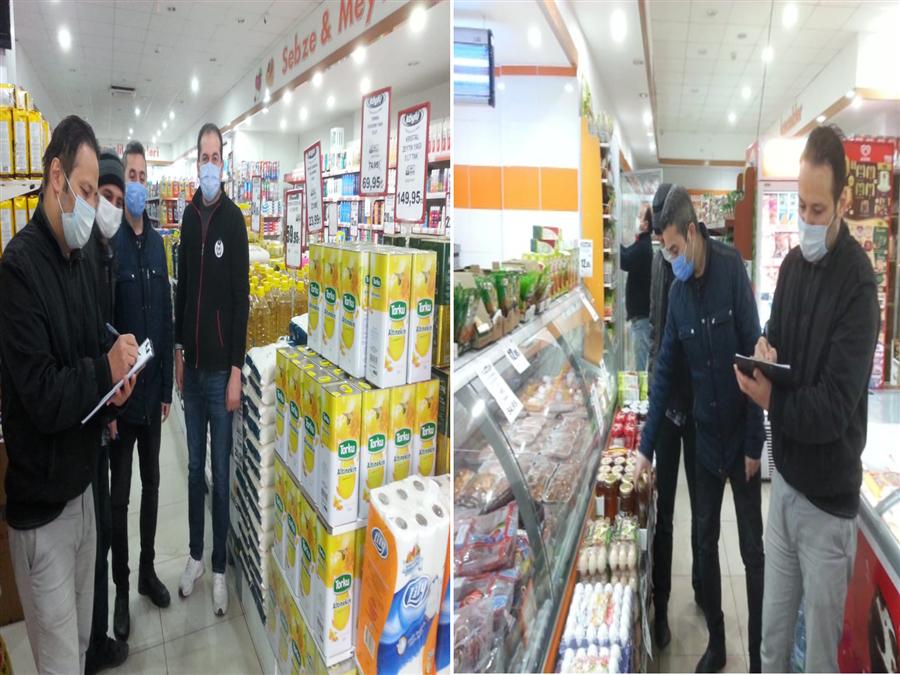 Haksız Fiyat Artışlarına yönelik denetimlerimiz Valiliğimiz himayesinde bu hafta sonu da Ticaret İl Müdürlüğümüz ve Aksaray Defterdarlığımız personeli ile birlikte devam etti
