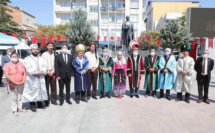13-19 Eylül 2021 tarihleri arasında gerçekleştirilen 34. Ahilik haftası kutlamaları kapsamında 15 Temmuz Demokrasi Meydanında tören düzenlendi
